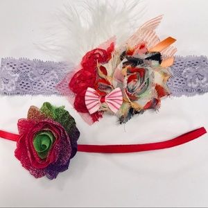 Other - Baby girl BOHO headband bundle summer lot